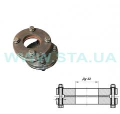 Flanges steel isolating Du of 32 mm of Ru16 of
