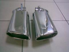 Nozzles on the muffler for VW Touareg