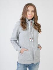 LC1-990004, Пуловер женский с высоким воротником,