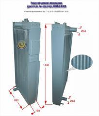 Радиатор водяной двигателя экскаватора...