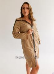 "Women's raincoat ""Elegant"" Mocha"