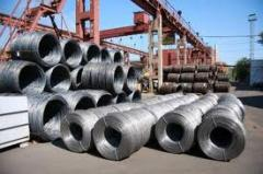 WIRE FROM LOW-CARBONACEOUS STEEL COLD-DRAWN FOR