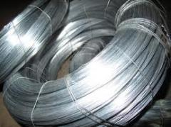 Wire galvanized GOST3282-74 of St1kp-3ps