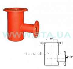 Support under a hydrant fire deadlock flange PPF