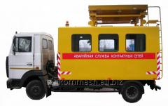 Аварийная контактной сети АТ-70М-041 на шасси МАЗ