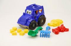 Игры развивающие. Сортер-трактор