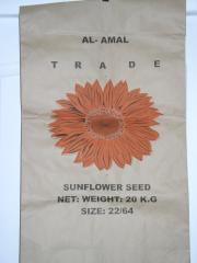 Paper bags under seeds