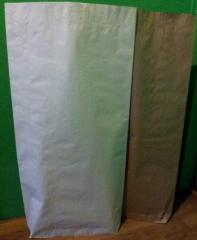 Paper bags under powdered milk, casein