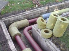 Basalt semi-cylinders