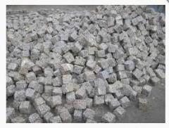 Stone blocks 5kh5kh5sm chipped