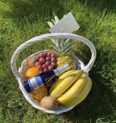Подарочная Корзина фруктов 5 кг