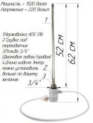 ТЭН для алюминиевого радиатора с электронным...