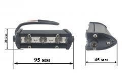 Светодиодные фары комплект. LED фары по 3 диода,