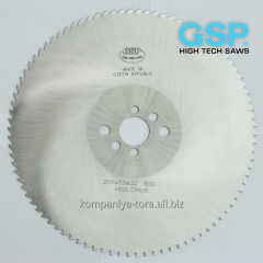 Circular saws for cutting of brass, alloys from