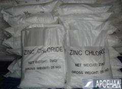 Chloride zinc in continuous existence