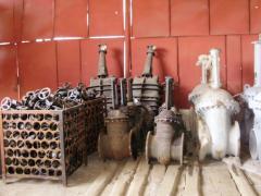 Backpressure rotary valve flange 19s47nzh