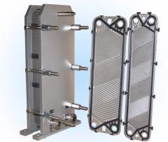 Lamellar heatexchange devices