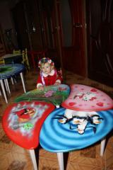 Столы детские | Стол детский 1-но местный с