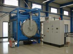 Chamber furnaces with cooling System 140