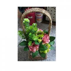 Декор T15-46 цветы