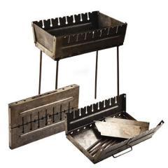 Мангал-чемодан на 8 шампуров 50*27*5см УК-М8