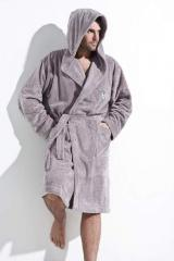 Dressing gowns are man's terry.