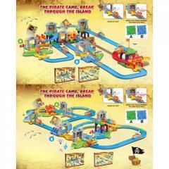 Детская железная дорога 8121-23 муз