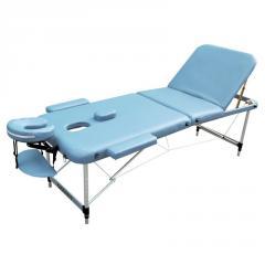 Стол для массажа складной,  LIGHT BLUE, ...