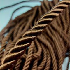 Декоративный шнур для натяжных потолков, ШОКОЛАДНЫЙ 10 мм (6-ЮА-0011)