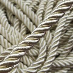 Декоративный шнур для натяжных потолков, МОЛОЧНЫЙ №4 10 мм (6-ЮА-0006)