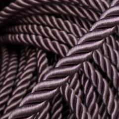 Декоративный шнур для натяжных потолков, СИРЕНЕВЫЙ 10 мм (6-ЮА-0010)