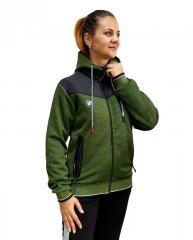 Женская трикотажная куртка-кофта на меху Puma