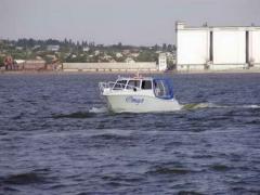 Boat aluminum MT750 TOURIST