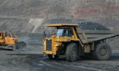 Ilmenite ore of the Nosachevsky field in Ukraine