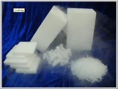 Artificial ice solid carbon dioxide (CO2)