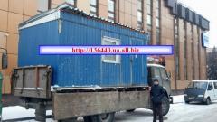 Прокат будівельного обладнання, Бытовки