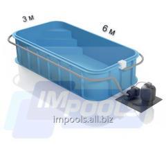 Пластиковый бассейн полипропиленовый