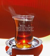 Tea black with aroma of strawberry and cream