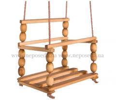 Wooden nursery kachel 320*320 mm