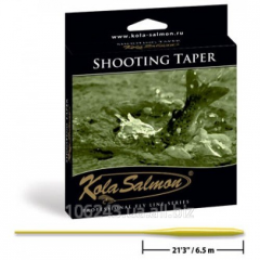 Шнур плавающий KOLA SALMON Shooting Taper