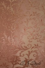 Gobelin peach monogram, Fabrics gobelin obivochny,