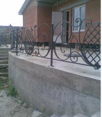 Shod handrail for ladders