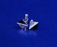 Cuff links from silver