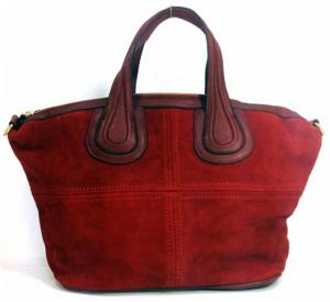 Suede Givenchy in Red Bag