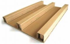 Pallets from the corrugated cardboard