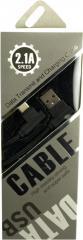 USB кабель DEX Speed cloth 2.1A Type-C 2L-образный