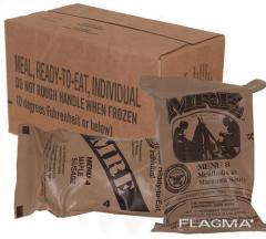Сухой паёк американский MRE ( США ) 12 штук, коробка.