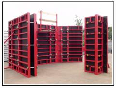 Timbering alyuminivy and steel