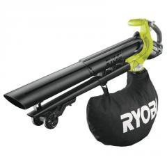 Аккумуляторный садовый пылесос-воздуходувка Ryobi