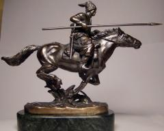 Figurines from bronze, on a gift, sale, to order.